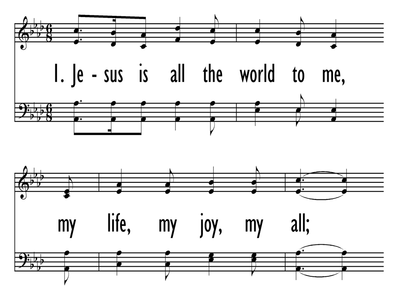 JESUS IS ALL THE WORLD TO ME-ppt