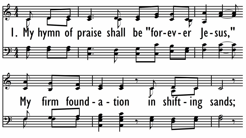 FOREVER JESUS (My Hymn of Praise)-ppt