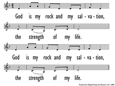 GOD IS MY ROCK-ppt