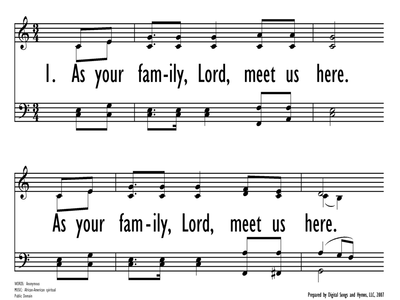 AS YOUR FAMIY, LORD-ppt