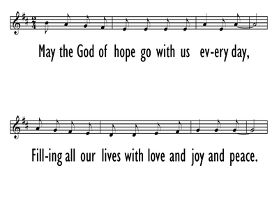 SONG OF HOPE - Lead Line-ppt