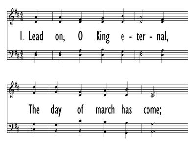 LEAD ON, O KING ETERNAL-ppt