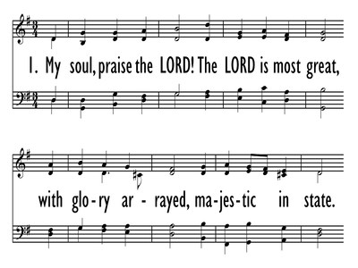 MY SOUL, PRAISE THE LORD!-ppt