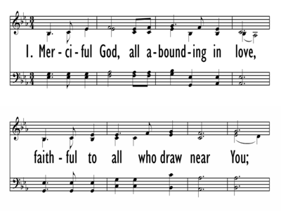 MERCIFUL GOD-ppt