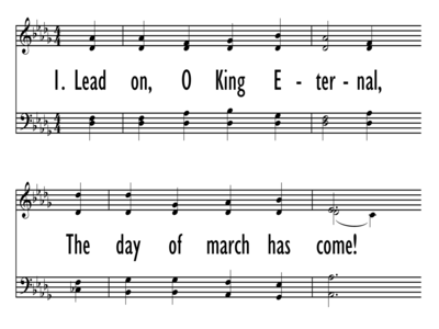 LEAD ON, O KING ETERNAL-ppt