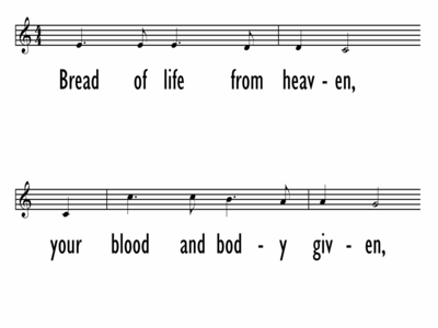 BREAD OF LIFE FROM HEAVEN-ppt