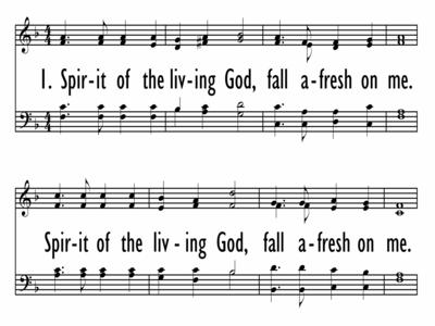 SPIRIT OF THE LIVING GOD-ppt