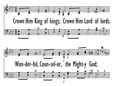 CROWN HIM KING OF KINGS-ppt