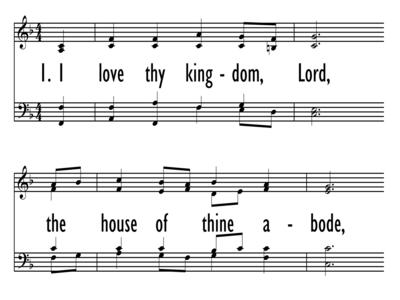I LOVE THY KINGDOM, LORD-ppt