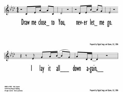 DRAW ME CLOSE - Lead Line-ppt