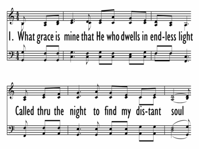 WHAT GRACE IS MINE-ppt