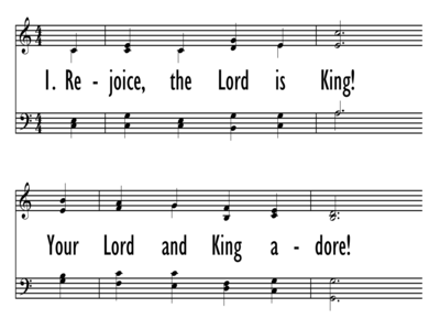 REJOICE, THE LORD IS KING!-ppt