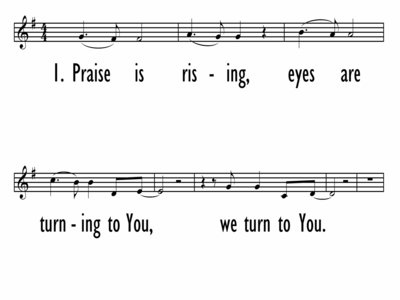 HOSANNA (PRAISE IS RISING) - Lead Line-ppt