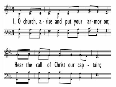O CHURCH, ARISE-ppt