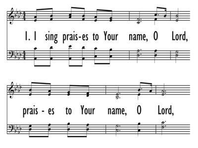 I SING PRAISES-ppt