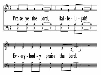 PRAISE YE THE LORD, HALLELUJAH-ppt