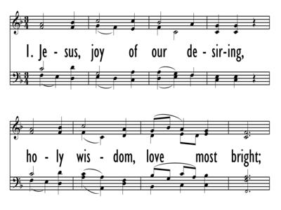JESUS, JOY OF OUR DESIRING-ppt