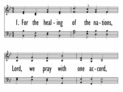 FOR THE HEALING OF THE NATIONS-ppt