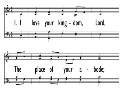 I LOVE YOUR KINGDOM, LORD-ppt