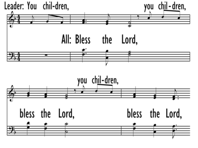 BLESS THE LORD, BLESS THE LORD-ppt