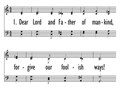 DEAR LORD AND FATHER OF MANKIND-ppt