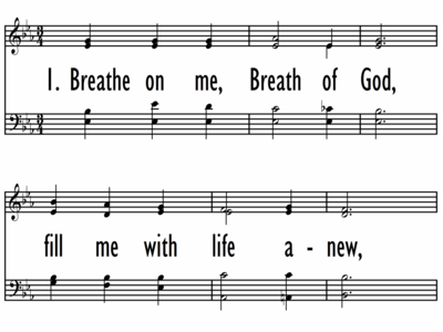 BREATHE ON ME, BREATH OF GOD-ppt