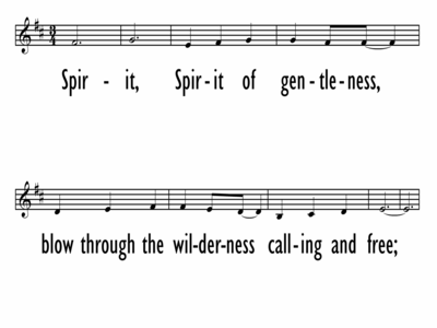 SPIRIT OF GENTLENESS - Lead Line-ppt