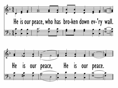 HE IS OUR PEACE-ppt