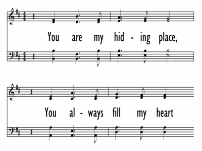 YOU ARE MY HIDING PLACE-ppt