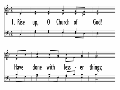 RISE UP, O CHURCH OF GOD-ppt