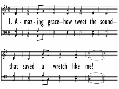 AMAZING GRACE - HOW SWEET THE SOUND-ppt