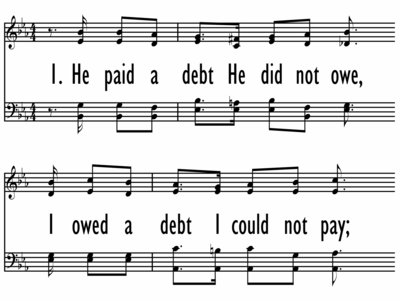 HE PAID A DEBT HE DID NOT OWE-ppt