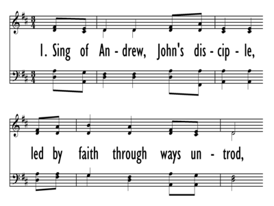 SING OF ANDREW-ppt