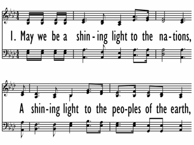 SONG FOR THE NATIONS-ppt