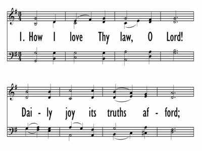 HOW I LOVE THY LAW, O LORD-ppt