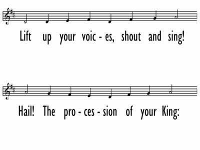 APPROACH OUR GOD WITH SONGS OF PRAISE-ppt
