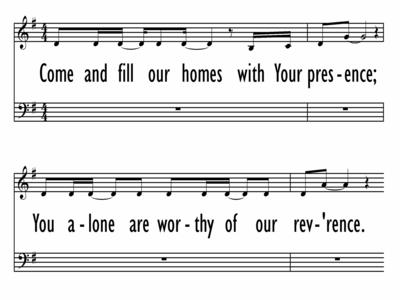 THE FAMILY PRAYER SONG-ppt