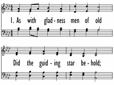 AS WITH GLADNESS MEN OF OLD-ppt