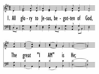 ALL GLORY TO JESUS-ppt
