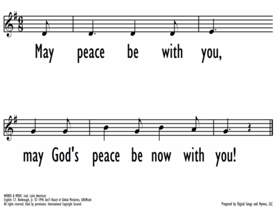 MAY PEACE BE WITH YOU / SALAMUN, KULLAHEEN - Lead Line-ppt