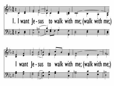 I WANT JESUS TO WALK WITH ME-ppt