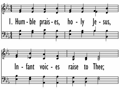HUMBLE PRAISES, HOLY JESUS-ppt