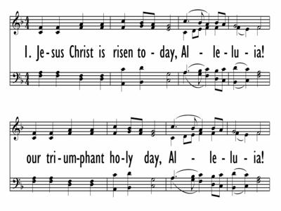 JESUS CHRIST IS RISEN TODAY-ppt