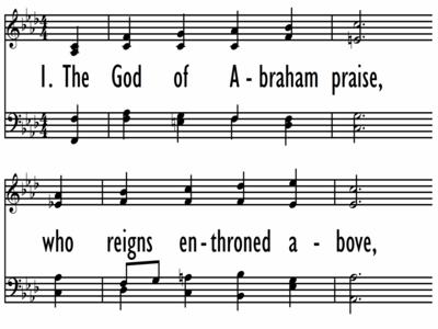 THE GOD OF ABRAHAM PRAISE-ppt