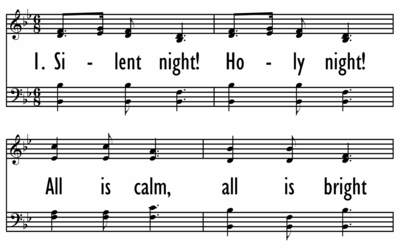 SILENT NIGHT! HOLY NIGHT-ppt