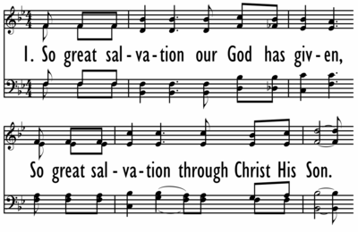 SO GREAT SALVATION-ppt