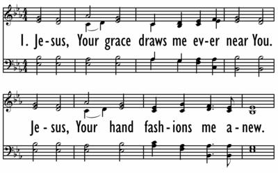 JESUS, YOUR GRACE-ppt