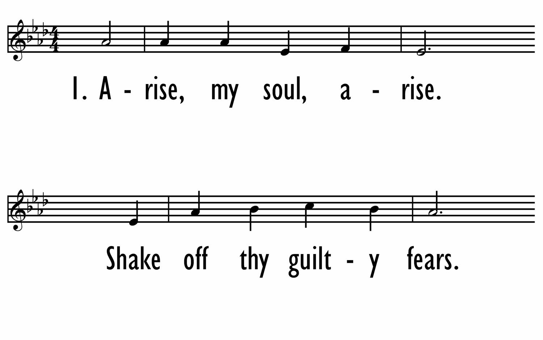 O THE DEEP, DEEP LOVE OF JESUS - Lead Line-ppt
