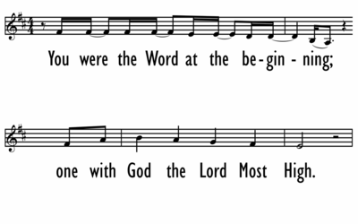 WHAT A BEAUTIFUL NAME with AGNUS DEI - Lead Line-ppt