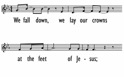 WE FALL DOWN - Vocal-ppt